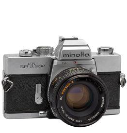 Minolta Minolta SRT 202 35mm SLR Camera Body Only