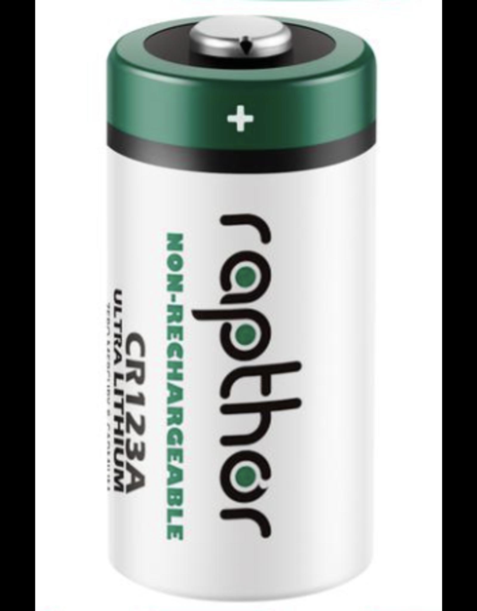 Rapthor Rapthor CR123A 3V. Lithium Battery (no packaging)