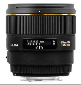 Sigma Sigma 85mm f/1.4 EX DG Lens for Nikon F