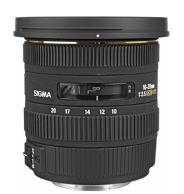 Sigma Sigma 10-20mm f/3.5 EX DC HSM Lens for Canon EF (used)