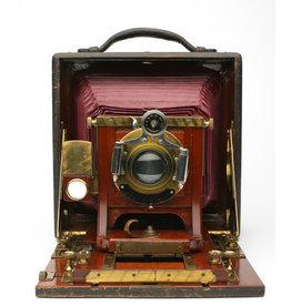 Folmer & Schwing Mfg. Co. Folmer & Schwing Mfg. Co. New York 5x7 Field Camera Kit w/B&L Lens(1890)