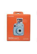Fuji Fuji Instax Mini 11 Instant Film Camera Sky Blue w/Matching Case