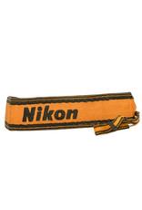 Nikon Vintage Nikon Gold & Black Embroidered Camera Strap