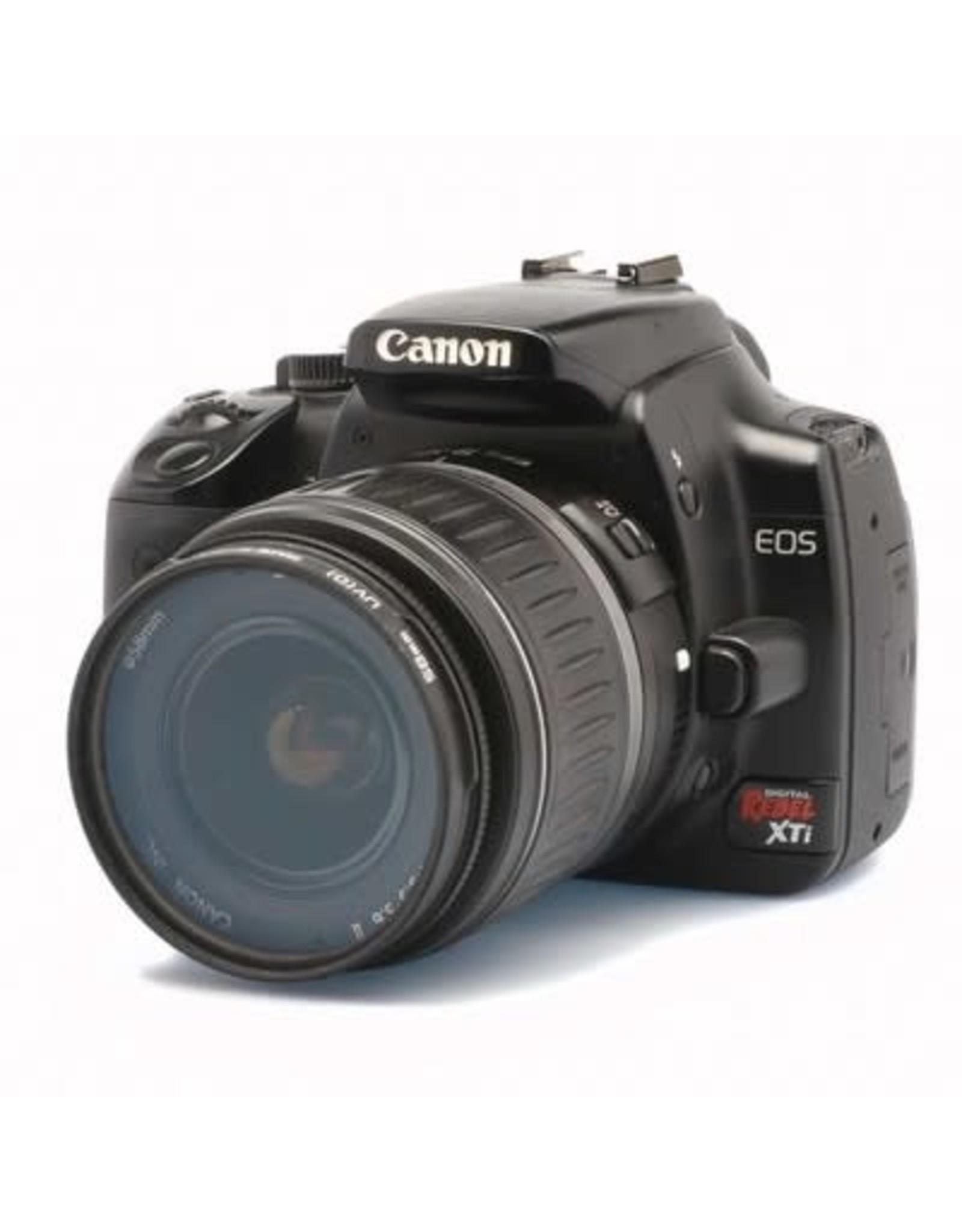 Canon Canon Digital Rebel XTi SLR w/18-55 f3.5-5.6 Kit Semester Rental 3