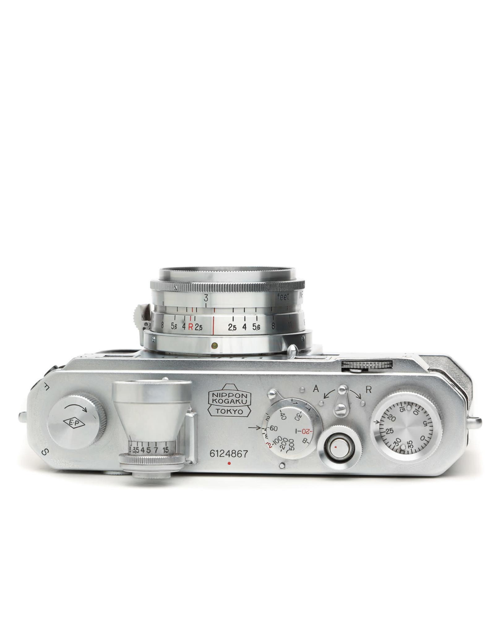 Nikon Nikon S Rangefinder Camera w/ Jupiter 8 lens