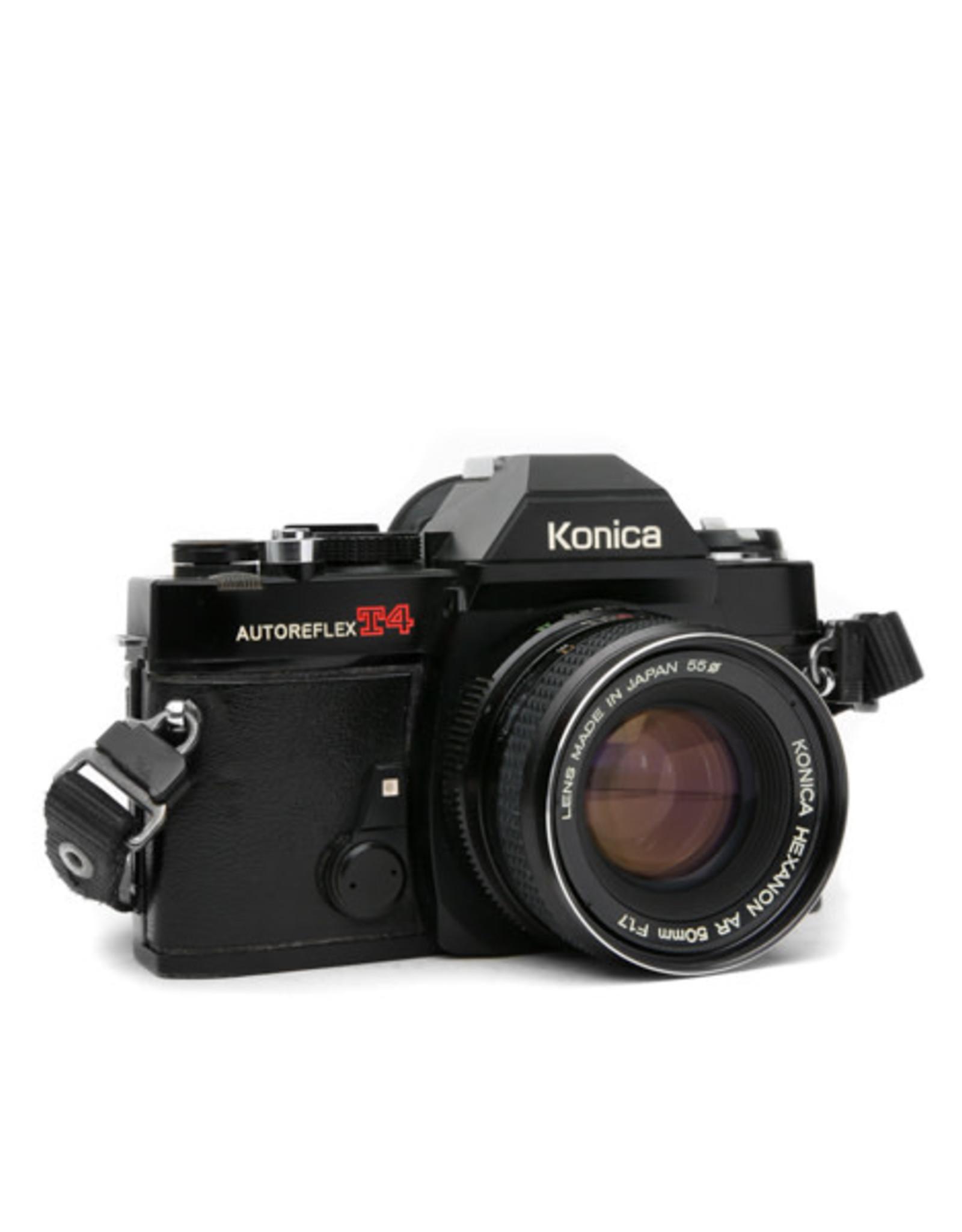 Konica Konica AUTOREFLEX T4 35mm SLR w/50mm Lens