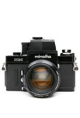 Minolta Minolta XM 35mm SLR Camera w/MC Rokkor-PG 58mm f1.2
