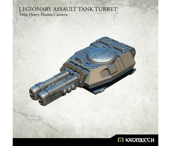 Assault Tank Turret Twin Heavy Plasma Cannon