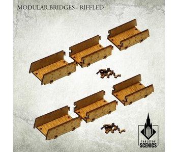 Modular Bridges Riffled Scenery HDF