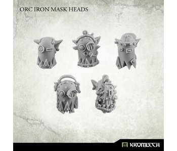 Orc Iron Mask Heads