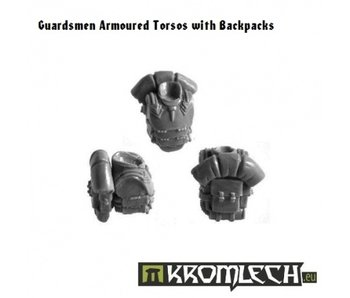 Guardsmen Armoured Torsos with Backpacks