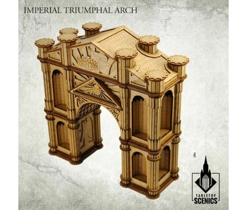 Gothic Spires Imperial Triumphal Arch