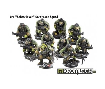 Orc Schmeisser Greatcoat Squad Armoured (10) 28mm