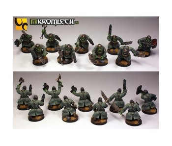 Orc Assault Greatcoat Squad 28mm