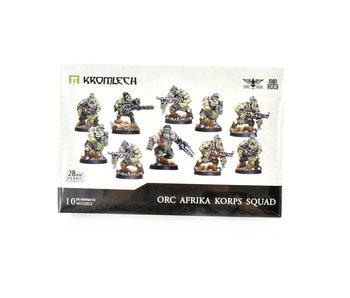 Orc Afrika Korps Squad 28mm