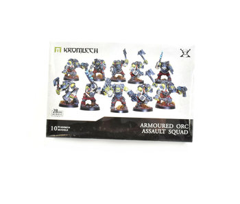 Armoured Orc Assault Squad 28mm