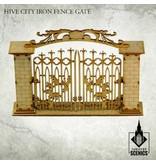 Kromlech Hive City Iron Fence Gate HDF