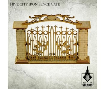 Hive City Iron Fence Gate HDF