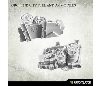 Orc Junk City Fuel and Ammo Piles