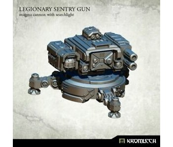 Legionary Sentry Gun Twin Magma Cannon with Searchlight