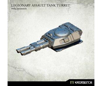 Assault Tank Turret Twin Lascannon