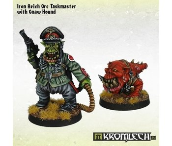 Orc Iron Reich Taskmaster with Gnaw Hound
