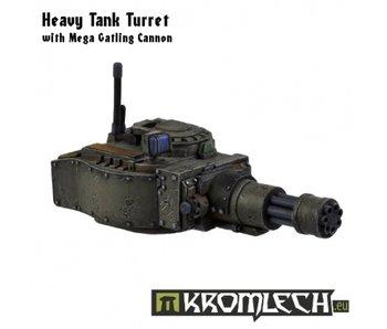 Heavy Tank Turret w/ Mega Gatling Cannon