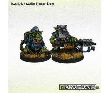 Orc Iron Reich Goblin Flamer Team