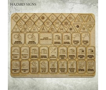 Hazard Signs HDF