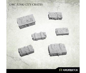 Orc Junk City Crates Scenery
