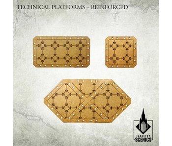 Technical Platforms Reinforced Scenery HDF