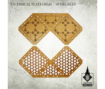 Technical Platforms 90 degrees Scenery HDF