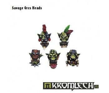 Orc Savage Heads