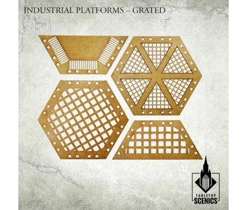 Industrial Platforms Grated Scenery HDF