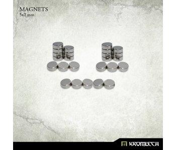 Neodymium Disc Magnets 5mm X 2mm (25 units)