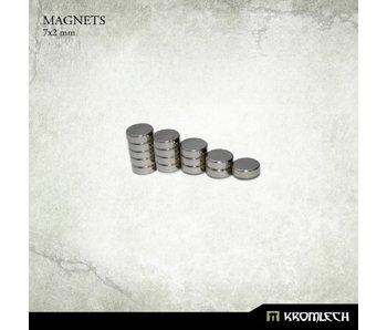 Neodymium Disc Magnets 7mm X 2mm (15 units)