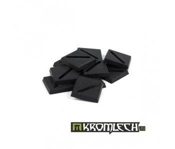 20mm Square Slotta Bases (10)