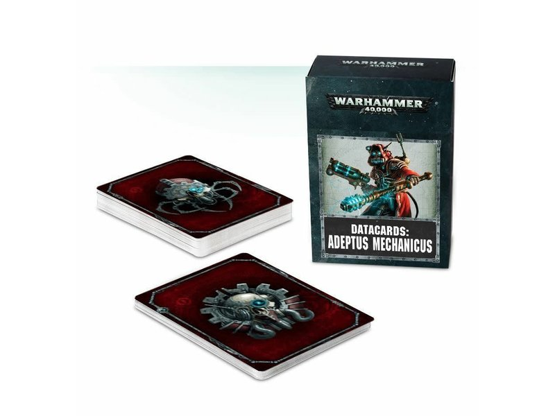 Games Workshop Adeptus Mechanicus Datacards