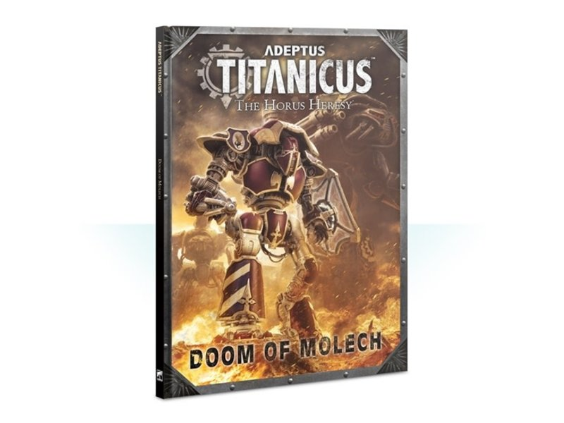 Games Workshop Adeptus Titanicus Doom of Molech Book