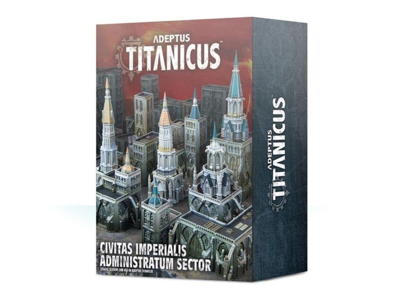 Games Workshop Adeptus Titanicus Civitas Imperialis Administratum Sector