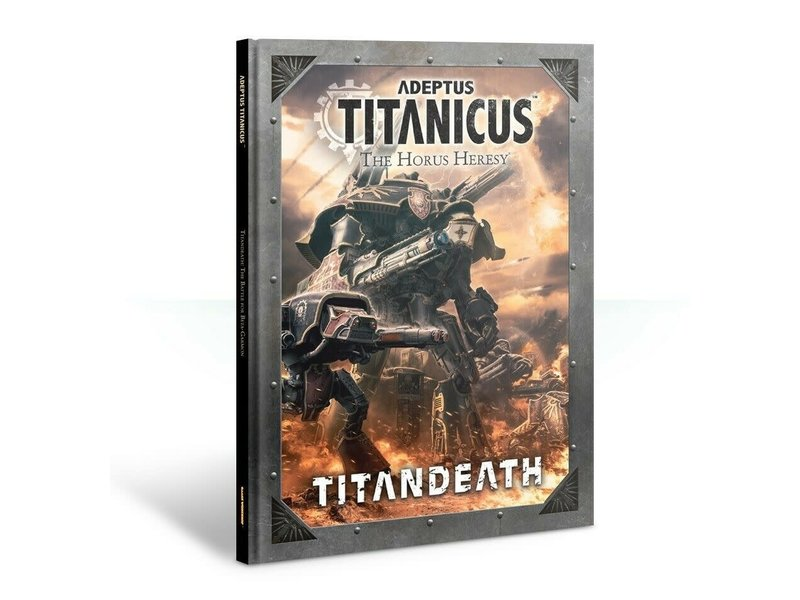 Games Workshop Adeptus Titanicus Titandeath Book