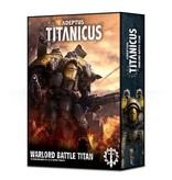 Games Workshop Adeptus Titanicus Warlord Battle Titan
