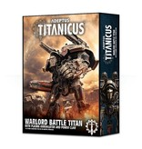 Games Workshop Adeptus Titanicus Warlord Battle Titan with Plasma Annihilator & Power Claw