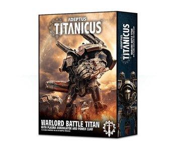 Adeptus Titanicus Warlord Battle Titan with Plasma Annihilator & Power Claw