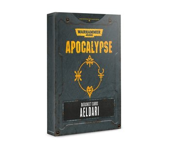 Apocalypse Aeldari Datasheet Cards