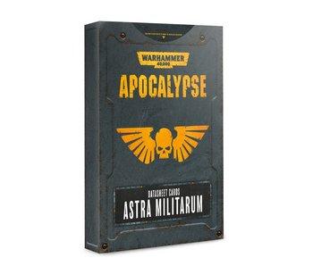 Apocalypse Astra Militarum Datasheet Cards