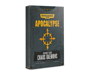 Apocalypse Chaos Daemon Datasheet Cards