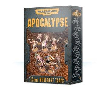 Apocalypse Movement Trays 25mm