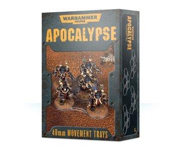 Apocalypse Movement Trays 40mm
