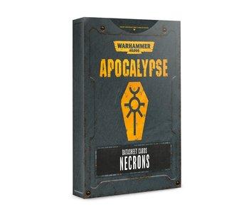 Apocalypse Necrons Datasheet Cards